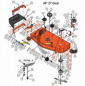 2017 Zt Elite 48 U0026quot  Deck Assembly