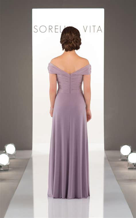 shoulder boho bridesmaid dress sorella vita