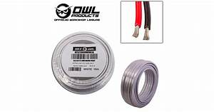 2 Core 4mm X 10 Metres Tinned Copper Cable Wire Wiring Marine Boat Trailer Owl