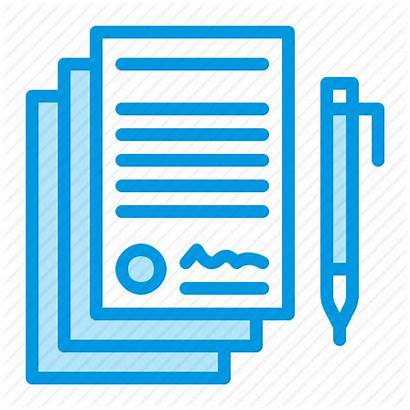 Icon Legal Agreement Contract Documents Document Icons
