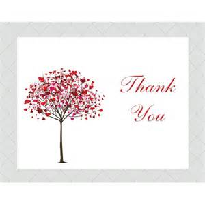 table numbers wedding tree thank you cards style 501 whimsicalprints