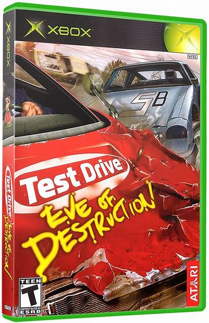Test Drive Eve Destruction Launchbox Box