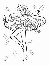 Coloring Pages Sailor Moon Colouring Sailormoon Mars Sheets Printable Cute Books Picgifs Print Template Christmas Manga Series Venus Kostenlos Cat sketch template