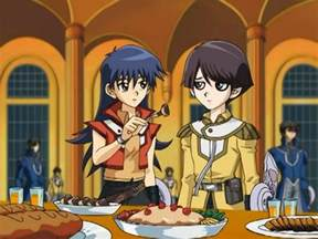 file blair and marcel at adrian s party jpg yu gi oh