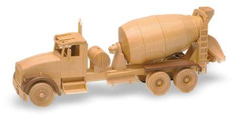 ready mix truck   woodworking plan