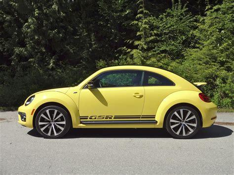 Volkswagen Beetle Gsr by 2014 Volkswagen Beetle Gsr Road Test Review Carcostcanada