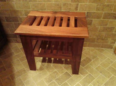 teak shower bench  skylark  lumberjockscom
