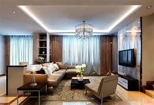Modern Style Living Room Curtains