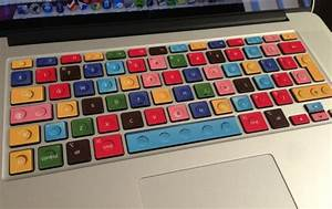 These Cool Keyboard Decals Add A Splash Of Color And ...