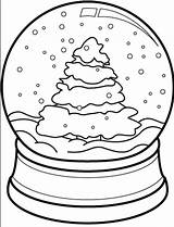 Snow Coloring Globe Christmas Tree Drawing Cone Pages Printable Snowglobe Theater Coloringpagebook Clipart Globes Getcolorings Easy Getdrawings Advertisement Diy sketch template
