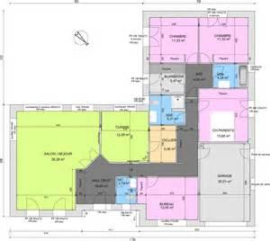 Plan Maison Plain Pied 4 Chambres Avec Suite Parentale by Avis Sur Plan De Plain Pied 4 Chambres De 145m 178 18 Messages