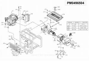 Powermate Formerly Coleman Pm0496504 Parts Diagram For