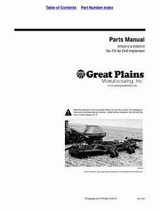 Great Plains Parts Manual Nta3010  U0026 Nta3510