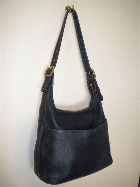 classic coach purse vintage coach made in usa black leather handbag purse classic 2216