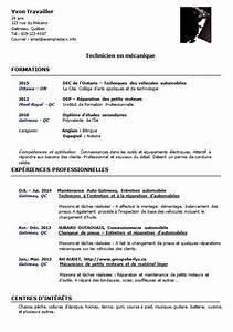 Formation Mecanique Auto Gratuit : cv d un m canicien automobile technicien en m canique exemple de cv info ~ Medecine-chirurgie-esthetiques.com Avis de Voitures