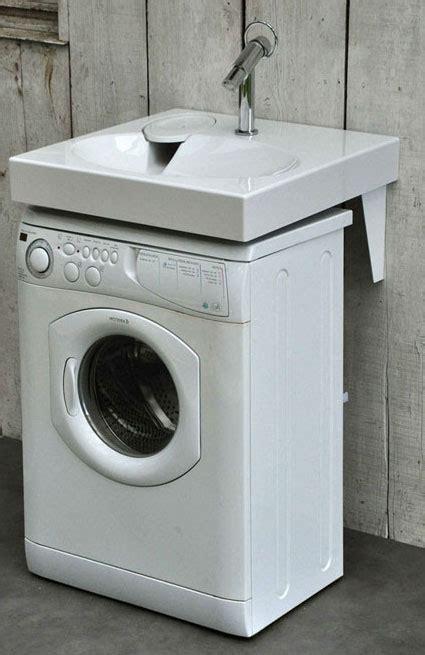 lave linge dans la cuisine meuble superposition lave linge seche linge maison