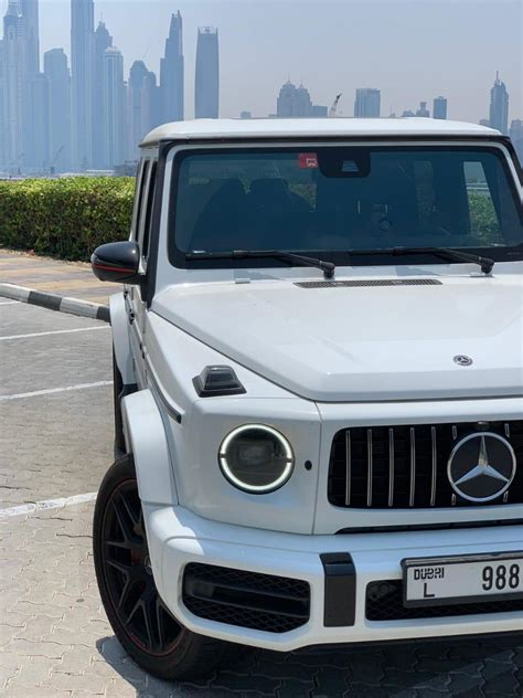 I do not wish to be contacted by telemarketers or representatives of any other website. Rent & Lease the Ferocious off Roader Mercedes G63 2020 in Dubai, UAE