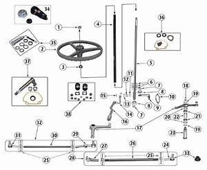 Diagrams For Jeep    Steering Parts    Jeep Willys  1941
