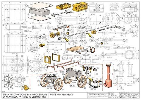 image result  mini steam engine blueprints