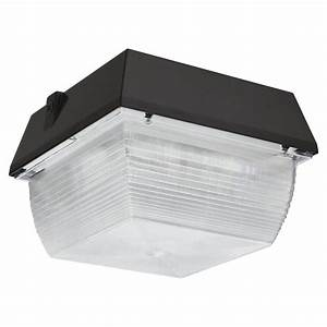 Ceiling mount outdoor led lights : Lithonia lighting ceiling mount outdoor dark bronze led
