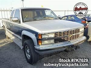 Used Parts 1991 Chevrolet Silverado 2500 5 7l 4x4