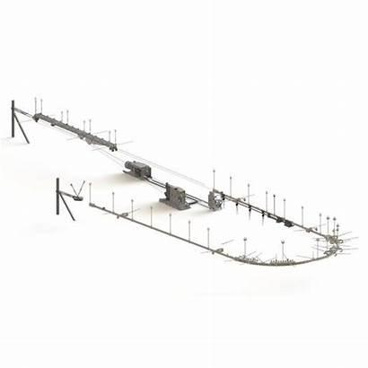 Monorail Pont Roulant Suspendu Ksp Overhead Crane