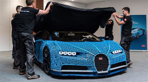 That being said, that was just lego, the famous toy company from denmark, accomplished. Full-Size LEGO Bugatti Chiron That Can Be Driven