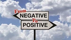 From Negative to Positive   International Bipolar Foundation  Positive