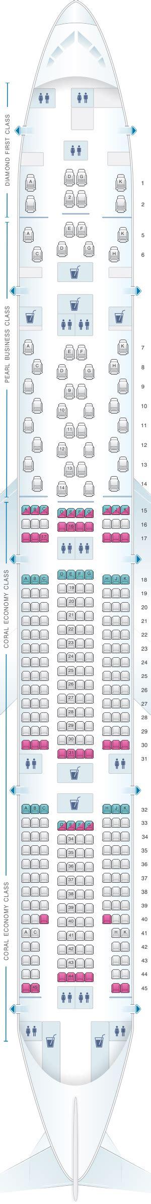 plan siege boeing 777 300er plan de cabine etihad airways boeing b777 300er 3 class