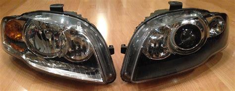 b7 a4 audi h1 mini projector retrofit xenon headlight retrofitlab audizine copyright bi