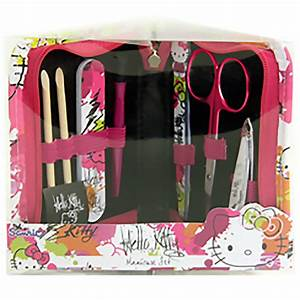 New Hello Kitty Girls Beauty Accessories Manicure Set