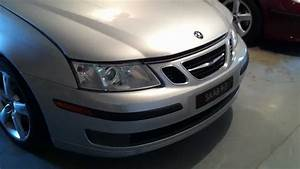 Saab 9-3 Bumper And Headlight Removal