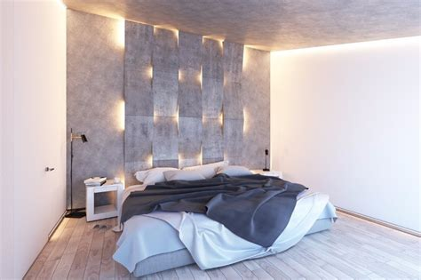 Stunning Bedrooms With Unique Lighting Designs