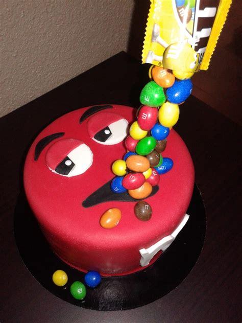 gravity cake mms rouge chut je cuisine
