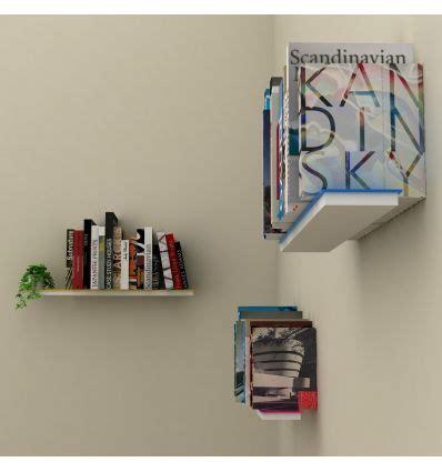 mensole per libri set 3 mensole a scomparsa da parete per libri mimetic