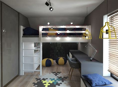 Bedroom Design Loft Bed by Loft Beds Mommo Design