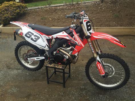 Honda Dirt Bike Graphics #mx #dirtbike #honda