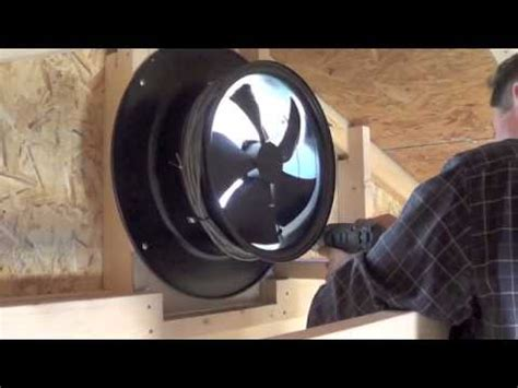 solar gable fan installation yellowblue