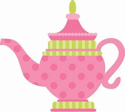 Alice Tea Wonderland Clipart Teapot Clip Bule
