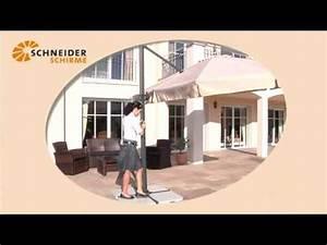 Ampelschirm Schneider Rhodos : schneider ampelschirm rhodos 300 x 300 cm bei youtube ~ Eleganceandgraceweddings.com Haus und Dekorationen