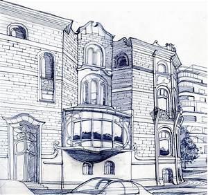 Architektur Haus Zeichnen : architektur haus skizze elk haus architektur und natur haus im wald skizze architektur haus ~ Markanthonyermac.com Haus und Dekorationen