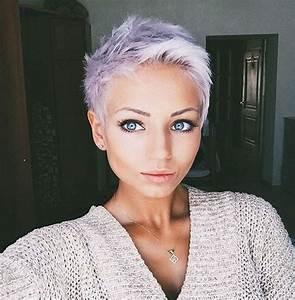 Trendige Kurzhaarfrisuren 2017 : id es coupe cheveux pour femme 2017 2018 40 coiffures courtes et faciles coiffer ~ Frokenaadalensverden.com Haus und Dekorationen