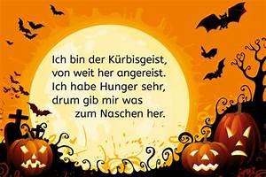 Lustige Halloween Sprüche : halloween spruch ich bin der k rbisgeist bilder ~ Frokenaadalensverden.com Haus und Dekorationen