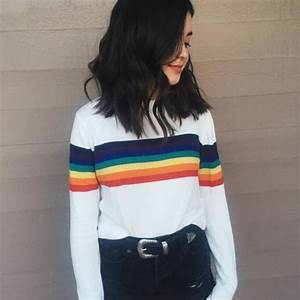 Outfits with Striped Sweater-23 Ways to Wear Sweaters with Stripes