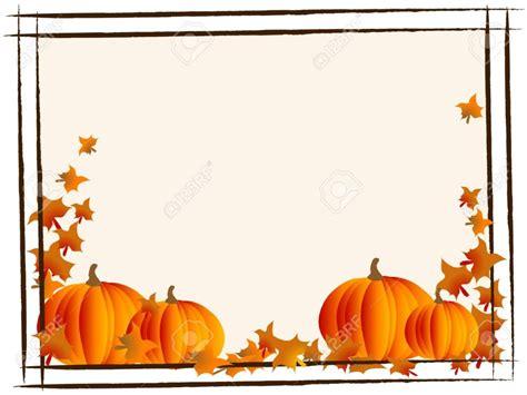 pumpkin border  clipartioncom