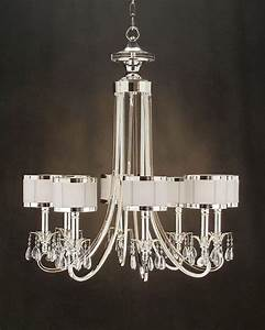 Lighting chandeliers contemporary : John richard light chandelier ajc modern