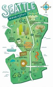 Washington State Map Seattle.Best Seattle Map Ideas And Images On Bing Find What You Ll Love