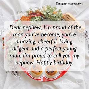 Happy Birthday Messages Wishes Quotes For Nephew The