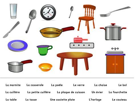 magasin ustensiles cuisine apprenons français ensemble vocabulaire pour débutant