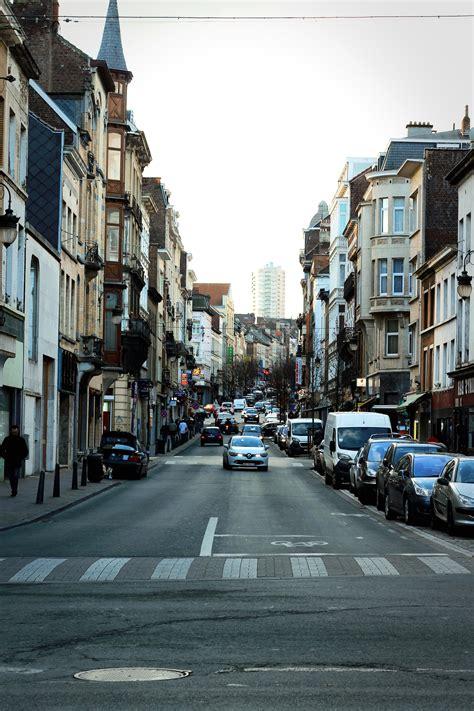 picture street city road car asphalt exterior